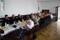 Ćwiczenia ewakuacyjne na terenie Szkoły Podstawowej im. Oskara Kolberga w Bukowie.