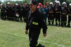 28 czerwca 2008 r.- Zawody sportowo-pożarnicze jednostek OSP w Wielkich Drogach.