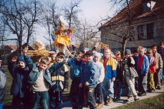 Powitanie wiosny w Bukowie.