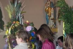 Niedziela Palmowa w Bukowie oraz konkurs palm wielkanocnych.
