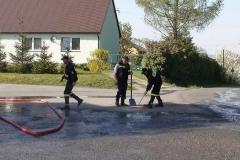 OSP Buków pomaga mieszkańcom.