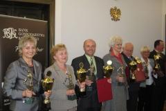 Laureaci konkursu Sołtys Roku 2008.