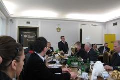 Podczas uroczystości wręczenia nagród odbyła się konferencja na temat funduszu sołeckiego - Fundusz sołecki-zadania i szanse.