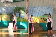 Uroczyste otwarcie sali gimnastycznej.