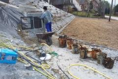 Buków - czyszczenie studni 2020.