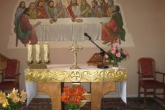 Ołtarz kaplicy w Bukowie.