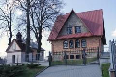 Kaplica w Bukowie przed pracami renowacyjnymi.