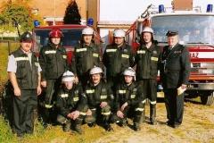 Jednostka Ochotniczej Straży Pożarnej w Bukowie wraz z zapleczem obecnie.