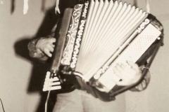 Członek zespołu - Józef Ożóg (akordeon)