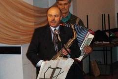 Występ GJPOK na uroczystości Dnia Kobiet 2009 - Wiesław Klimas i Józef Ożóg