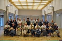 Występ GJPOK na uroczystości Złotych Godów małżeńskich w Urzędzie Gminy w Mogilanach