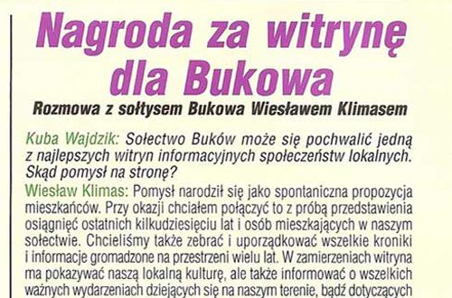 2009-04-01-nagroda-za-witryne-dla-bukowa-featured