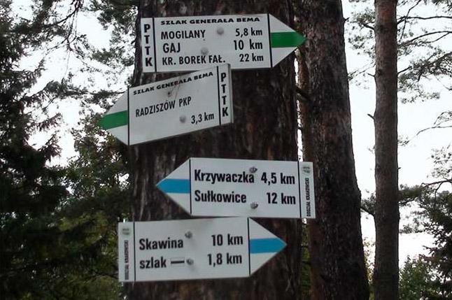 bukow-turystyka-szlaki