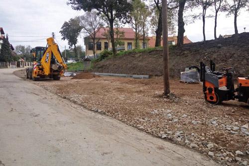 Inicjatywa Lokalna - Ciąg dalszy prac nad budową miejsc do parkowania.